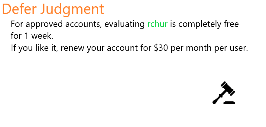 rchur | Streamlining Litigation Workflows